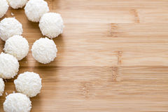 Coconut Pralines Royalty Free Stock Image