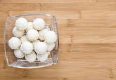 Coconut Pralines Royalty Free Stock Photos