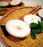 Coconut Pudding Stock Photo