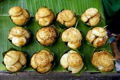 Coconut-Rice Hotcakes Royalty Free Stock Image