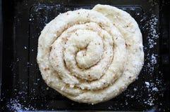 Coconut roll Stock Photo