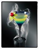 Coconut Rum cocktail Stock Image