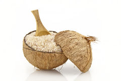 Coconut salt Stock Photos