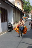 Coconut seller Royalty Free Stock Image