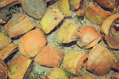 Coconut shell background. Coconut shell outer shell of coconut background royalty free stock photography
