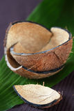 Coconut Shell Stock Photo