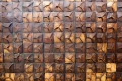 Coconut shell wall Stock Photography