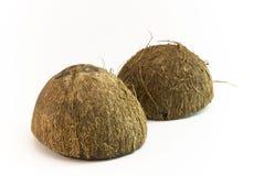 Coconut shells Royalty Free Stock Photos