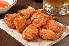 Coconut shrimp Stock Images