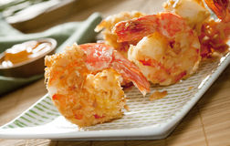 Coconut shrimp Royalty Free Stock Images