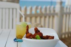 Coconut Shrimp in Sri Lanka stock photos