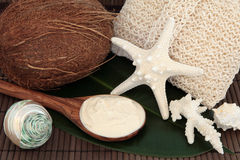 Coconut Spa Stock Images