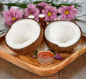 Coconut spa Stock Photography