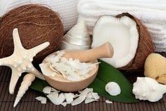Coconut Spa Treatment Royalty Free Stock Photo