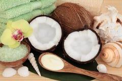 Coconut Spa Treatment Royalty Free Stock Photos