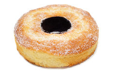 Coconut sponge cake Stock Photo