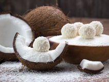 Coconut sweets Stock Photography