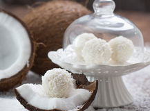 Coconut sweets royalty free stock image