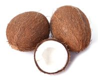 Coconut on the table Royalty Free Stock Images