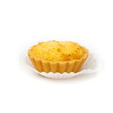 Coconut Tartlets Stock Photo