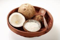 Coconut in Tray Royalty Free Stock Photo