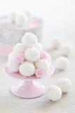 Coconut truffles Stock Image