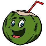 Coconut Water Cartoon Stock Photos