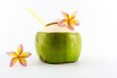 Coconut water drink. Stock Photography