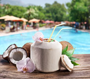 Coconut Water royalty free stock images