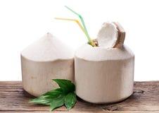 Coconut Water. Stock Photos