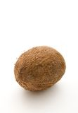 Coconut on white. A coconut isolated on white background Stock Image