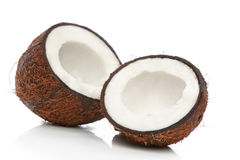 Coconut on a white background Stock Photography