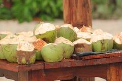 Green Coconuts Stock Photos