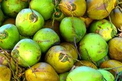 Coconuts, Batu Caves, Malaysia Stock Photo