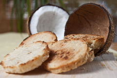 Coconuts bread Stock Photography