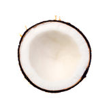Coconuts isolated on a white background Stock Photos