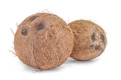 Coconuts isolated on white background. Coconuts isolated on a white background with clipping path Stock Photo