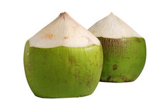 Coconuts isolated on white background Stock Photography