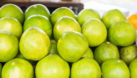 Coconuts at market Royalty Free Stock Image