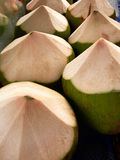 Coconuts. On the thailand market Stock Photo