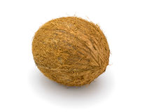 Coconuts on a white Royalty Free Stock Photography