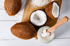 Coconuts. Royalty Free Stock Photography