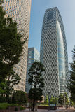 The Cocoon building from the ground up. Royalty Free Stock Images