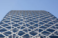 Cocoon Tower in Tokyo Stock Photography