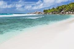 Cocos Anse, Ла Digue, Сейшельские островы Стоковое Фото