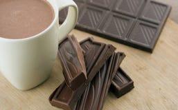 Cocos chauds et les ingrédients photos stock