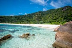 Cocos de Anse Fotografia de Stock Royalty Free