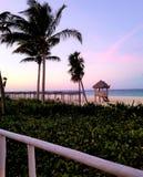 Cocos de Cayo, vues renversantes du Cuba - océan - coucher du soleil image libre de droits