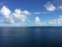 Cocos 2017 do Bahamas de Nassau Cay Ocean imagem de stock royalty free