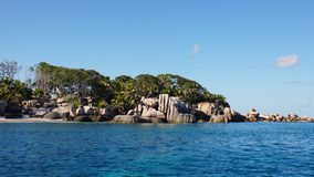 Cocos island. Amazing cocos island on the seychelles Royalty Free Stock Photo